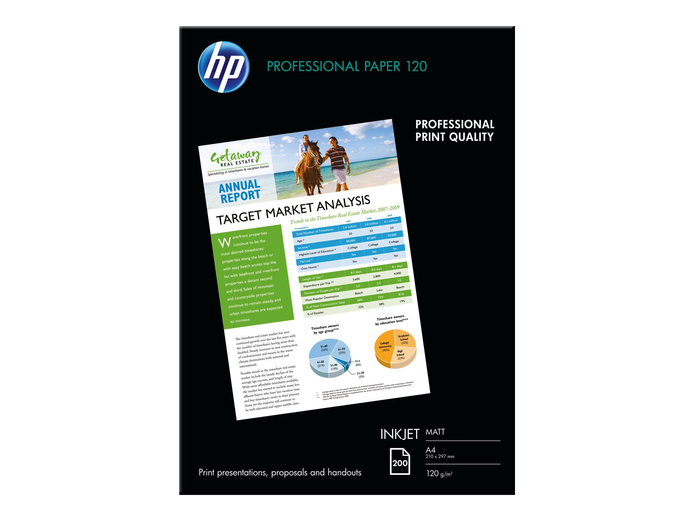 HP Professional 120 matt - Matt