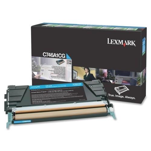 Lexmark C746A1CG Laser cartridge 7000Seiten Cyan Lasertoner / Patrone