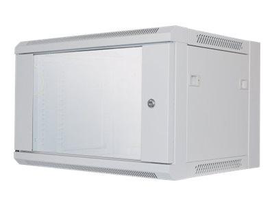 """Intellinet 19"""" Wallmount Cabinet, 6U, 370 (h)"""