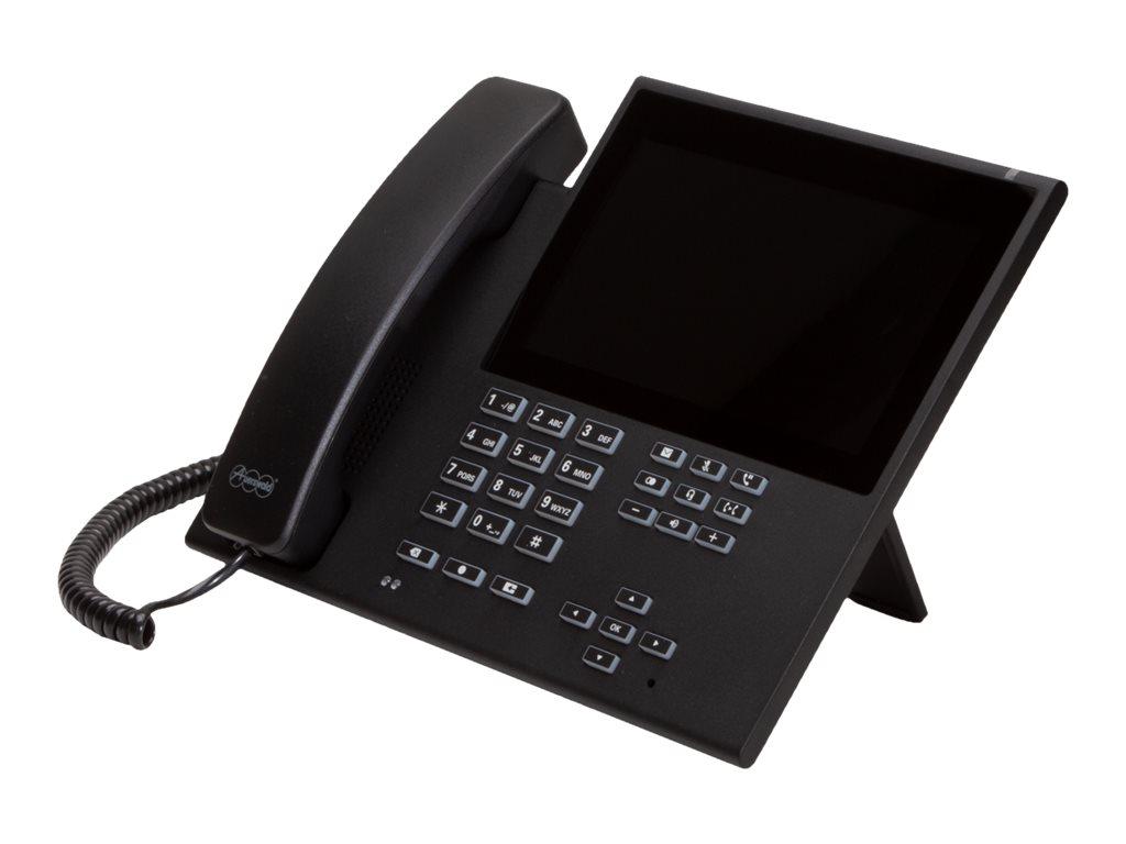 Auerswald COMfortel D-600 - VoIP-Telefon mit Rufnummernanzeige/Anklopffunktion