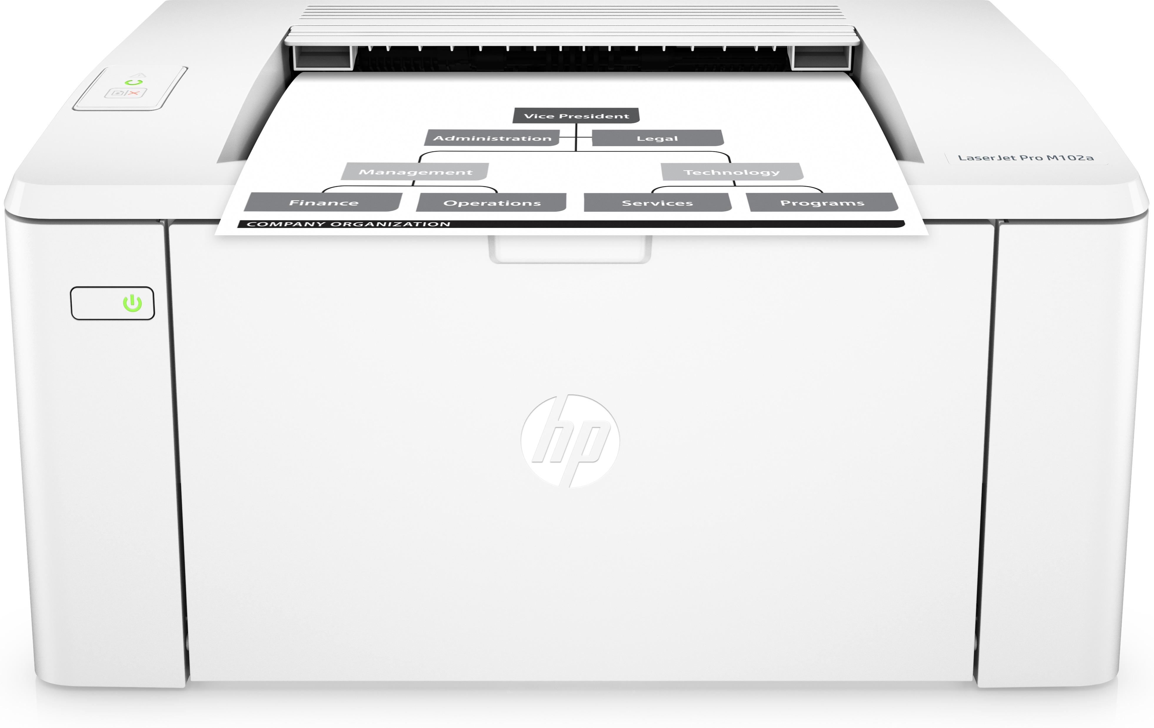 HP LaserJet Pro M102a, S/W Laser, A4