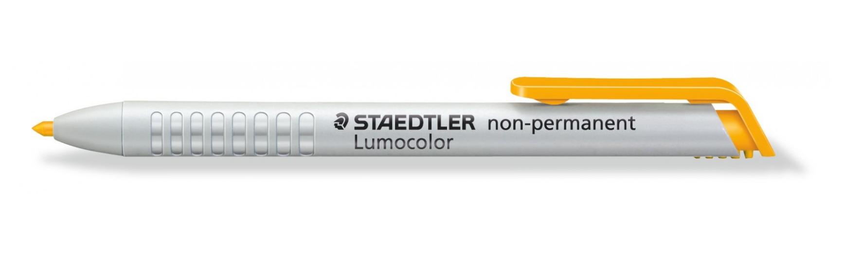 STAEDTLER Lumocolor 768 - Gelb - Rundspitze - Weiß - Gelb - Medium - 3 mm - Glas - Hartplatte - Leder - Metall - Papier - Kunststoff - Stein