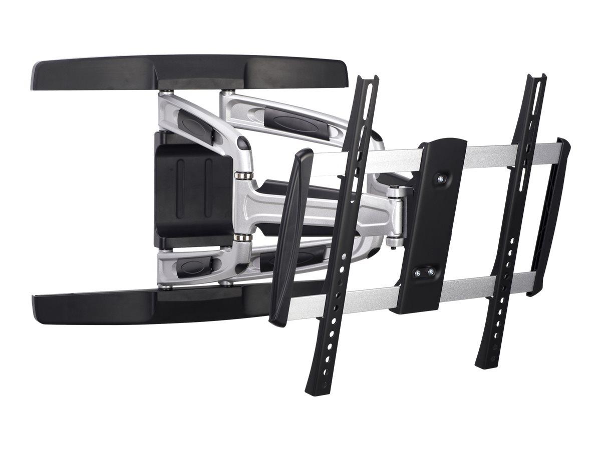 """equip Wandhalterung für LCD-/Plasmafernseher - Kunststoff, Aluminium, Stahl - Schwarz - Bildschirmgröße: 81-140 cm (32""""-55"""")"""