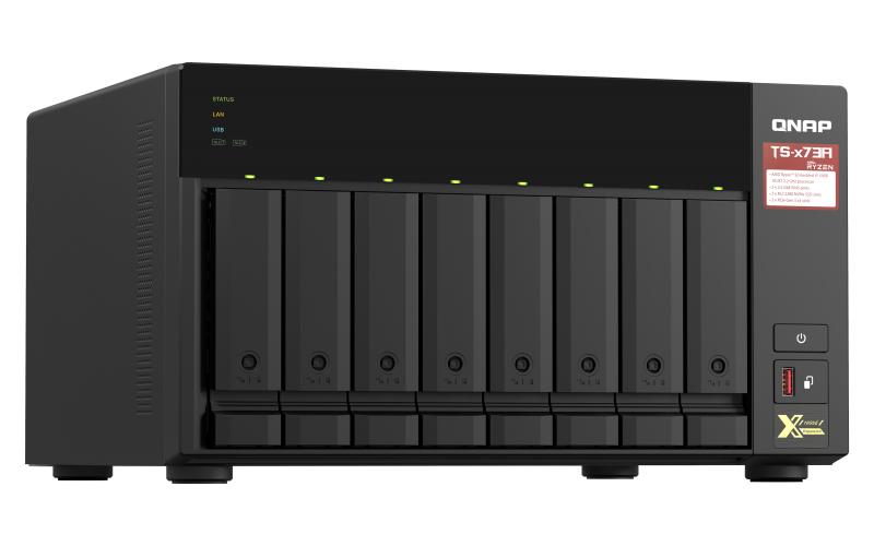 QNAP TS-873A - NAS-Server - 8 Schächte - SATA 6Gb/s