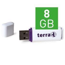 Wortmann TERRA USBee - USB-Flash-Laufwerk - 8 GB