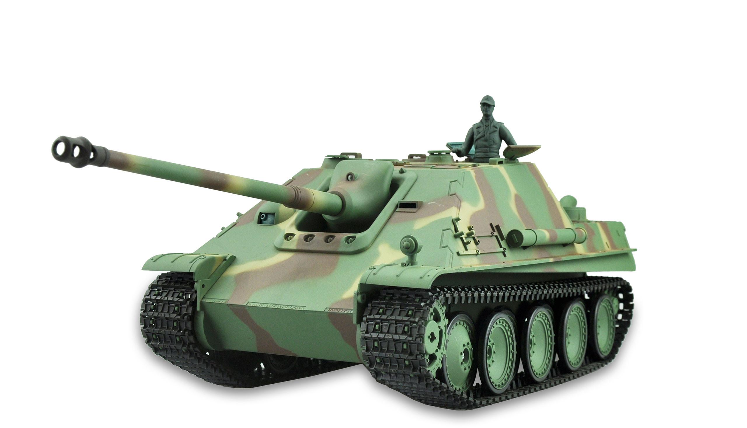 Amewi 23068 - Funkgesteuerter (RC) Panzer - Elektromotor - 1:16 - Betriebsbereit (RTR) - Camouflage - 2,4 GHz