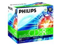 10 x CD-R - 700 MB (80 Min) - Jewel Case (Schachtel)