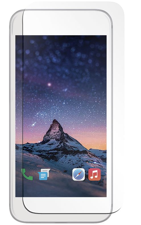 Mobilis Tempered Glass 9H - Bildschirmschutz