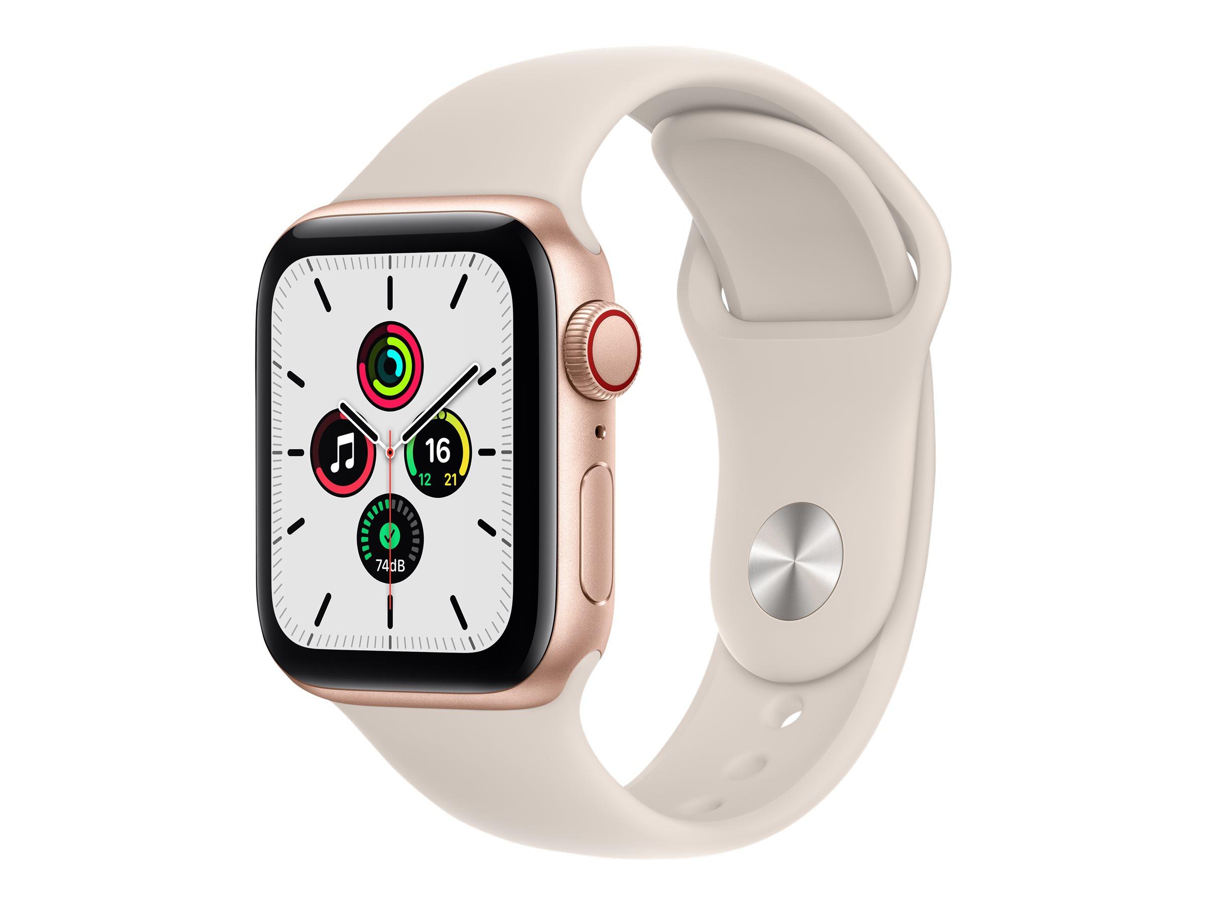 Apple Watch SE (GPS + Cellular) - 40 mm - Gold Aluminium