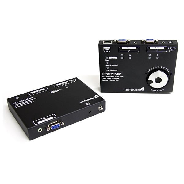 StarTech.com VGA Video über Cat5 Extender mit Audio bis zu 300m - 1920x1080