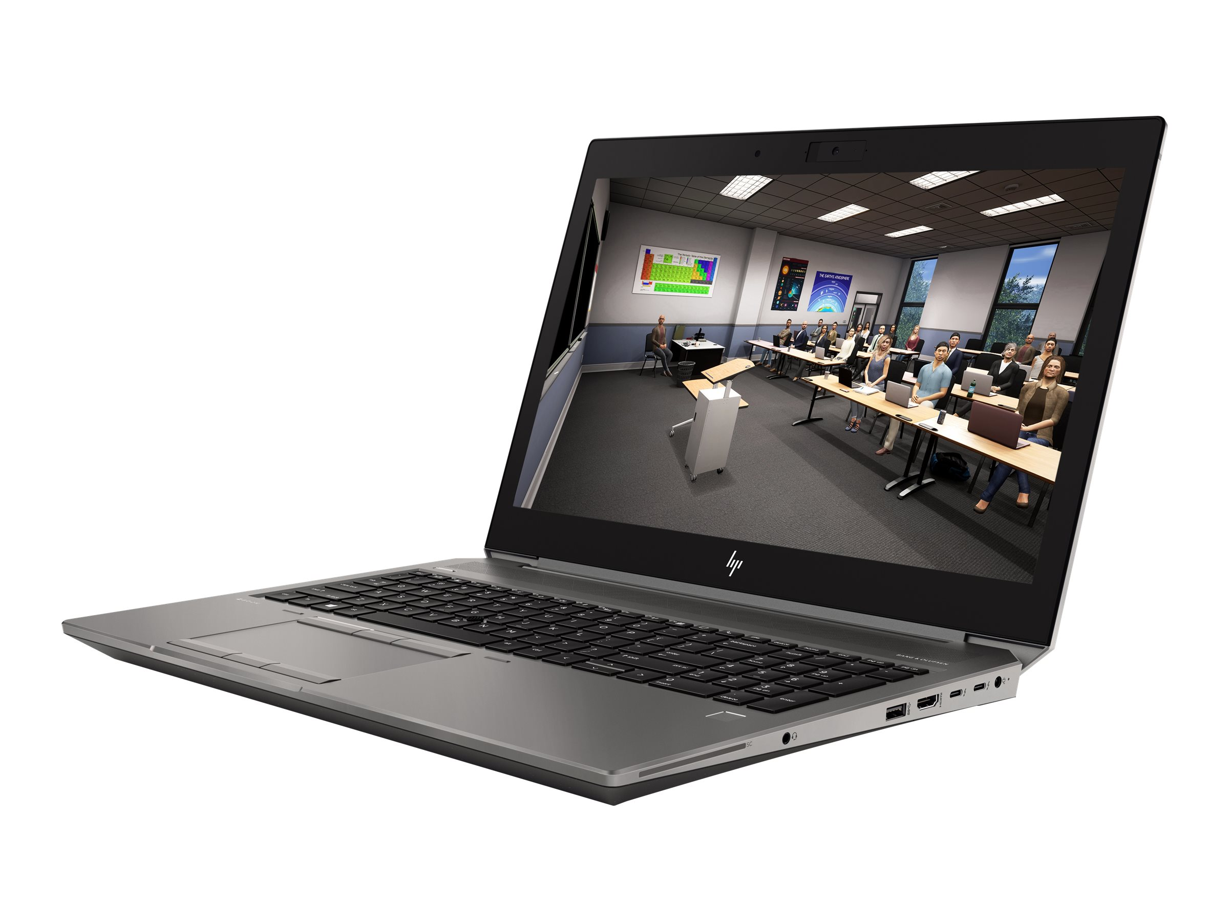 "HP ZBook 15 G6 Mobile Workstation - Core i7 9750H / 2.6 GHz - Win 10 Pro für Workstations 64-bit - 16 GB RAM - 512 GB SSD NVMe, TLC - 39.6 cm (15.6"")"