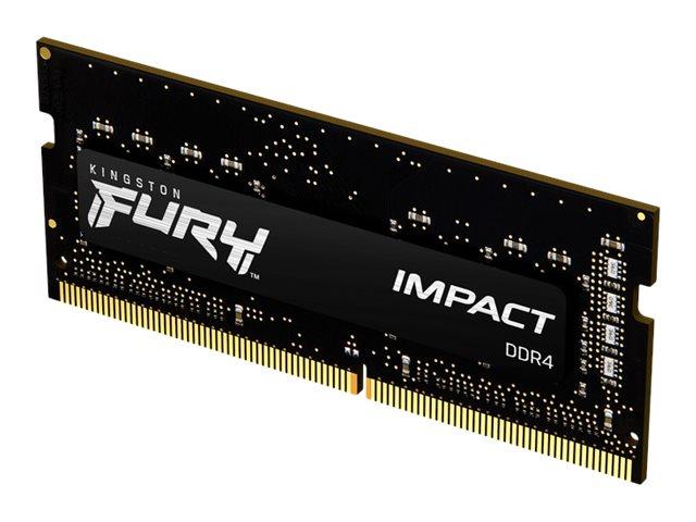 Kingston FURY Impact - DDR4 - Modul - 8 GB - SO DIMM 260-PIN