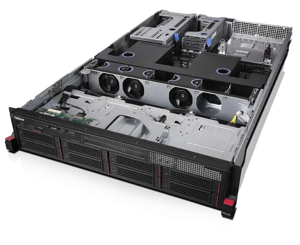 Lenovo ThinkServer RD45 0 70QQ - Server