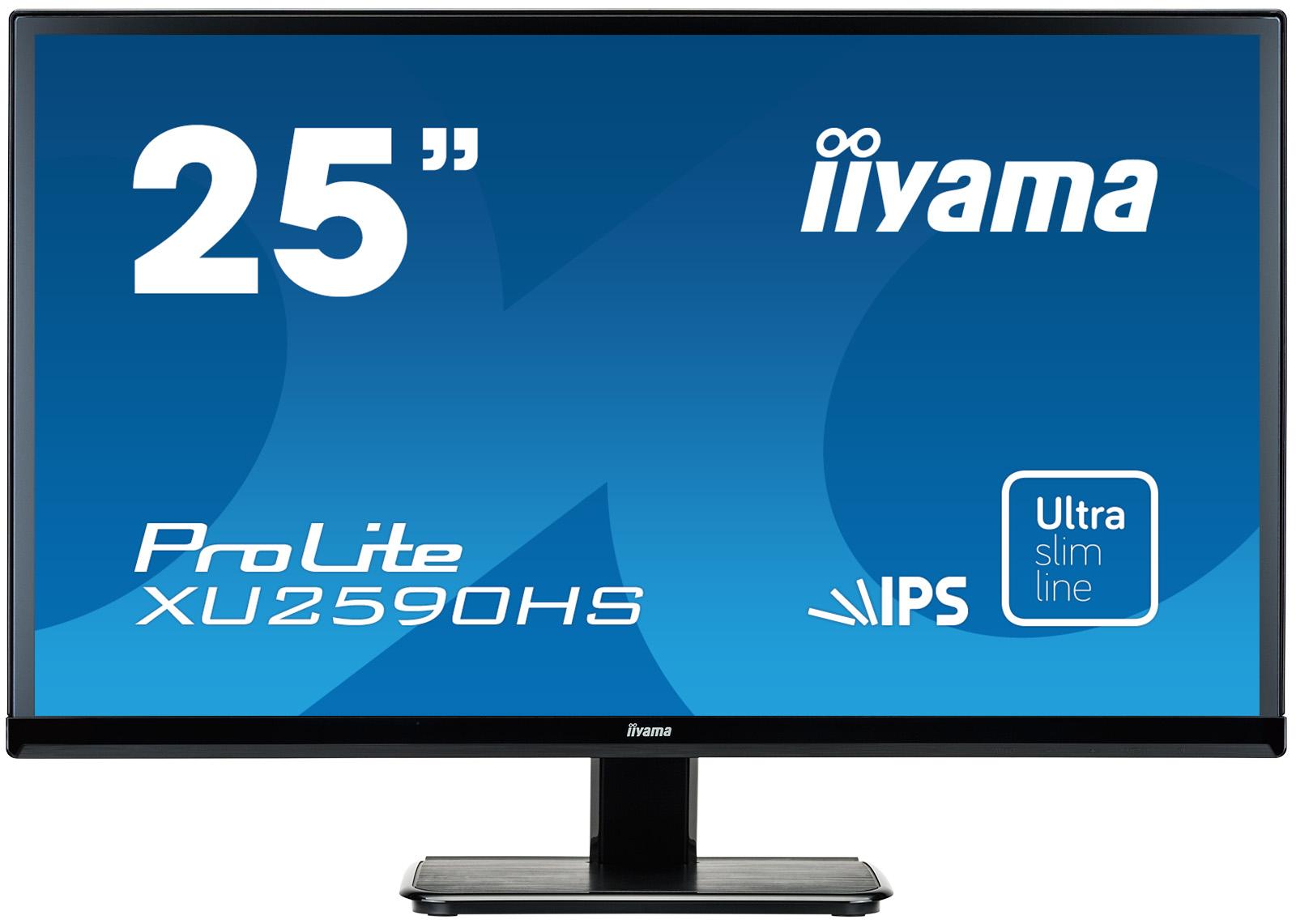 Iiyama ProLite XU2590HS-B1 - LED-Monitor - 63.5 cm (25) (25 sichtbar)