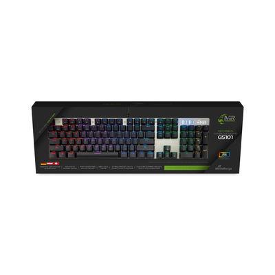 Vorschau: MEDIARANGE kabelgeb.mechanische Gaming-Tastatur mit RGB-Eff.
