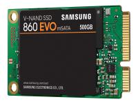 860 EVO Solid State Drive (SSD) mSATA 500 GB SATA
