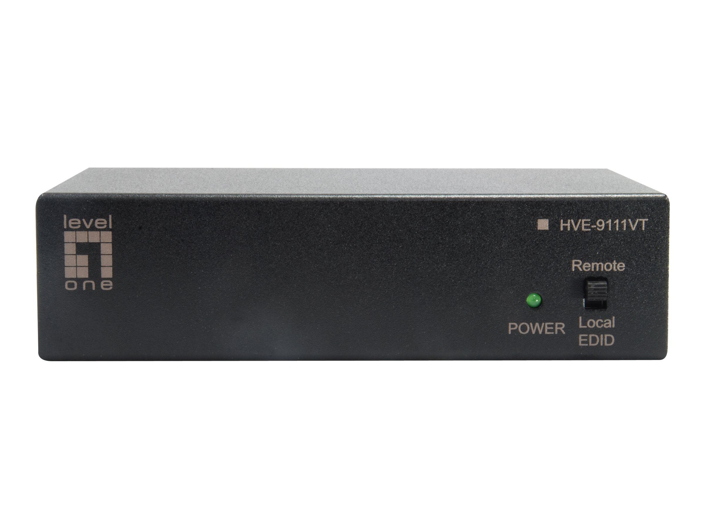 LevelOne HVE-9111VT - Erweiterung f?r Video/Audio