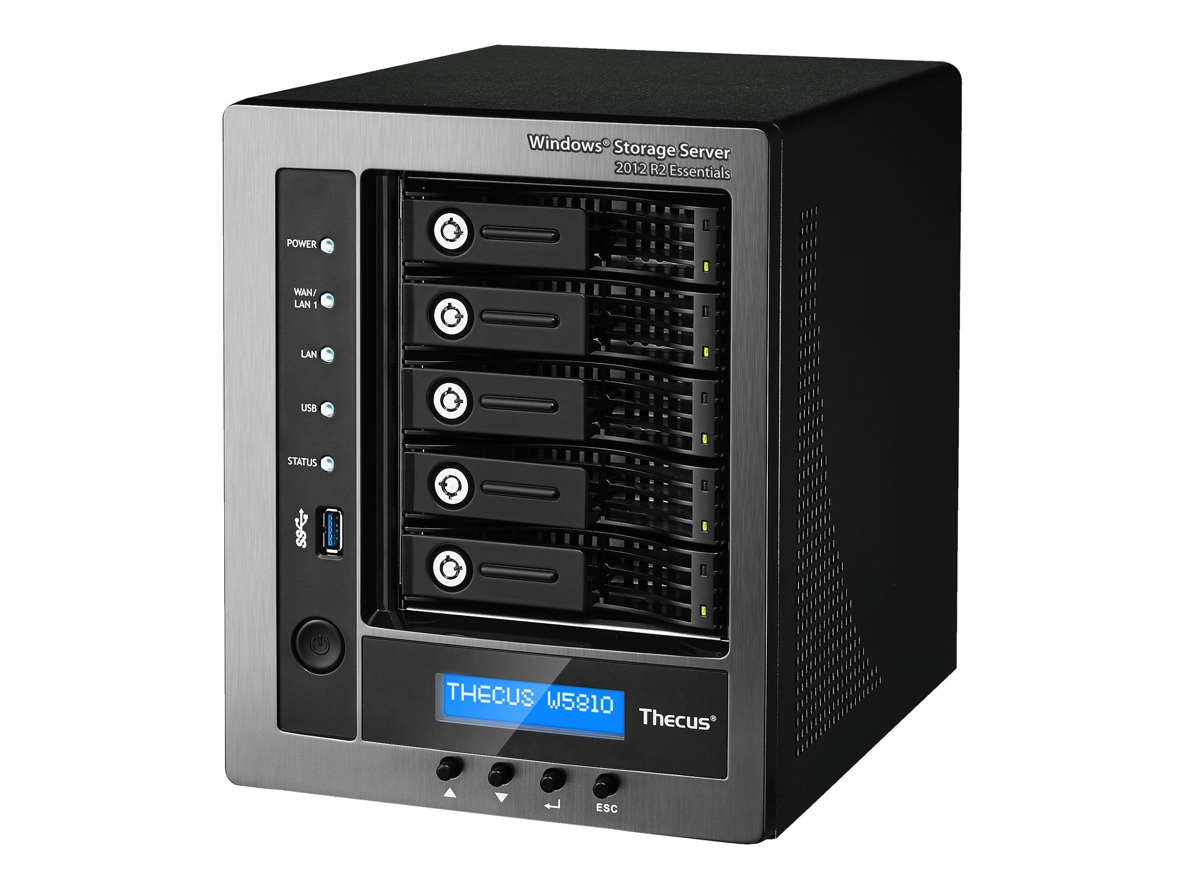 Thecus Technology W5810 - NAS-Server