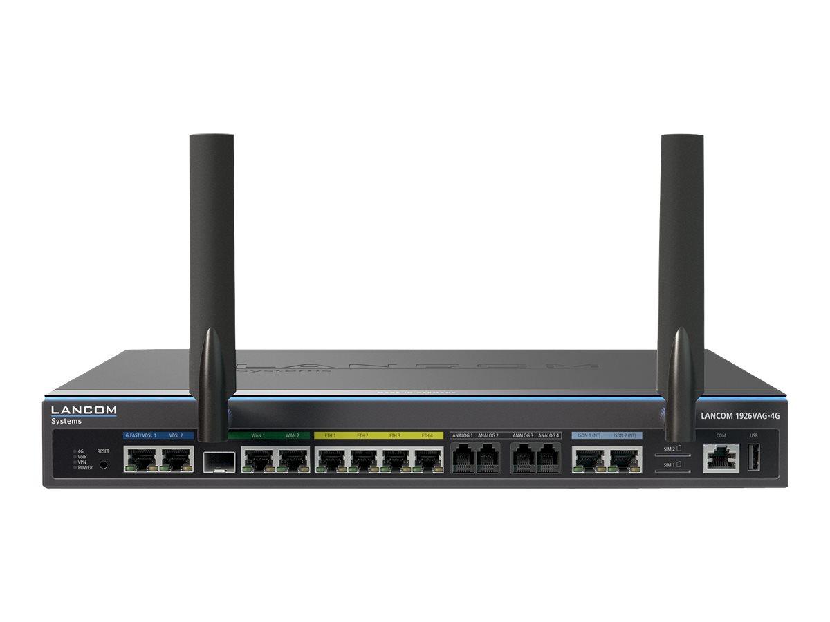 Lancom 1926VAG-4G - Router - ISDN/WWAN/DSL - 4-Port-Switch