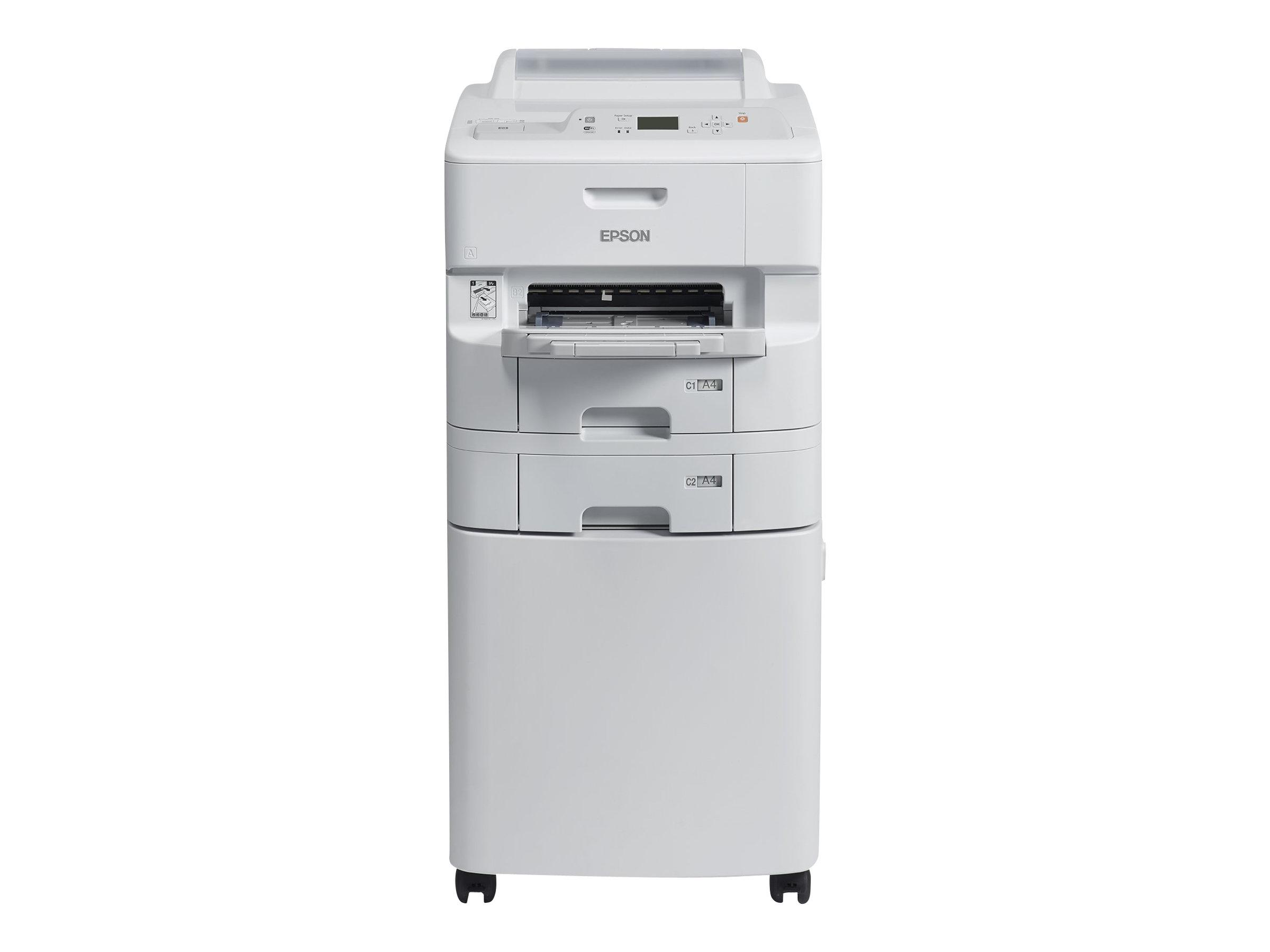 Epson WorkForce Pro WF-6090DTWC - Drucker - Farbe - Duplex - Tintenstrahl - A4/Legal - 4800 x 1200 dpi - bis zu 34 Seiten/Min. (einfarbig)/