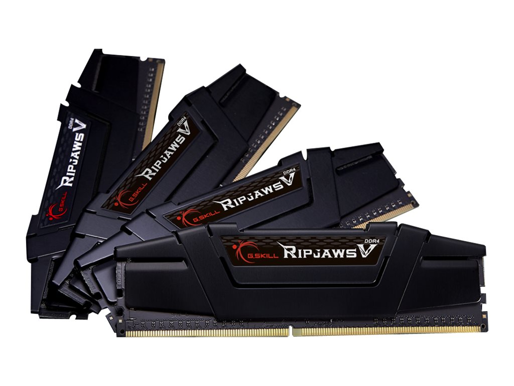 G.Skill Ripjaws V - DDR4 - 128 GB: 4 32 GB - DIMM 288-PIN