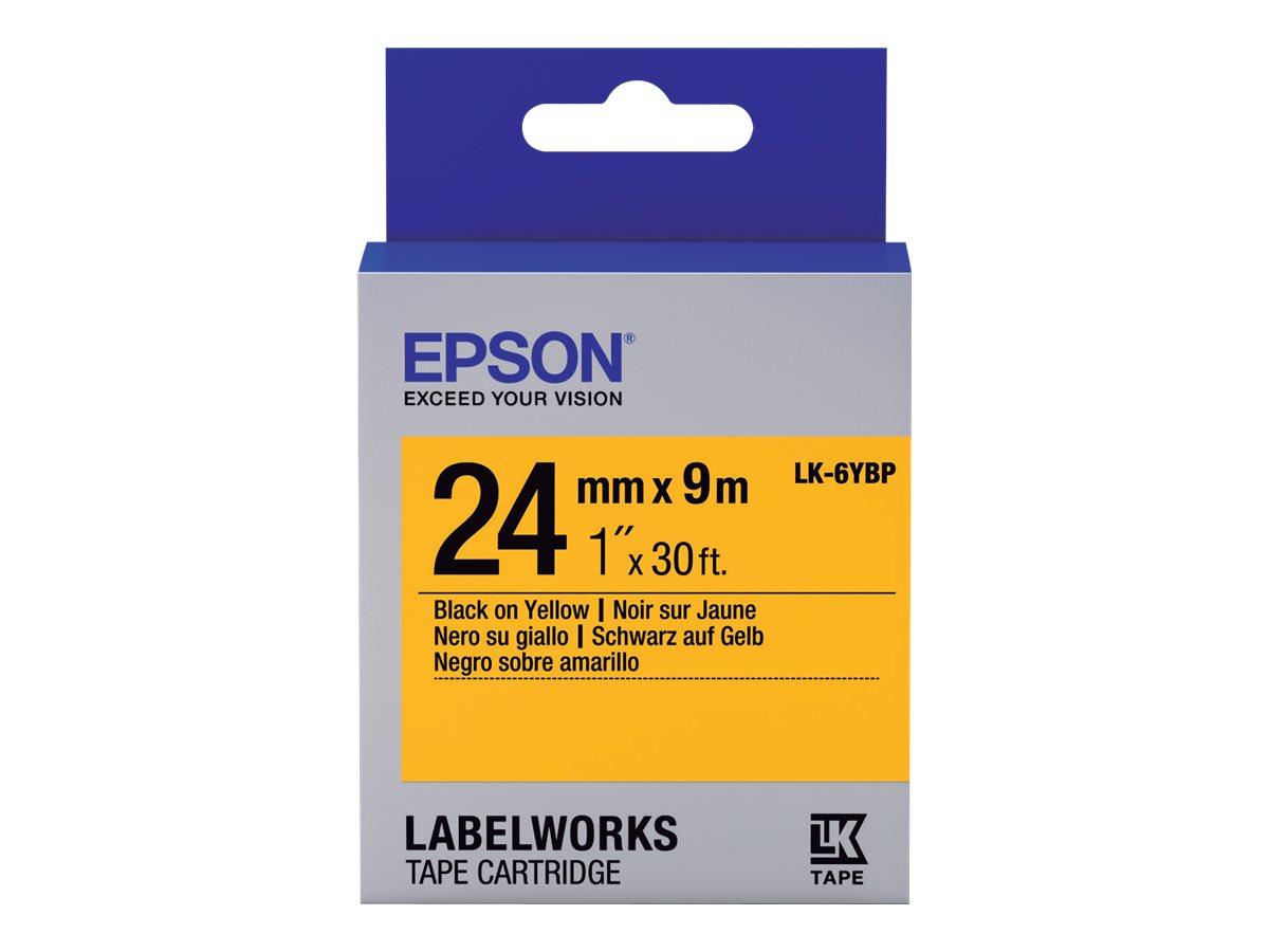 Epson LabelWorks LK-6YBP - Schwarz auf Gelb