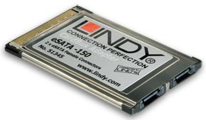 Lindy 2 Port eSATA - 150 CardBus Adapter Premium - Zubehör PC