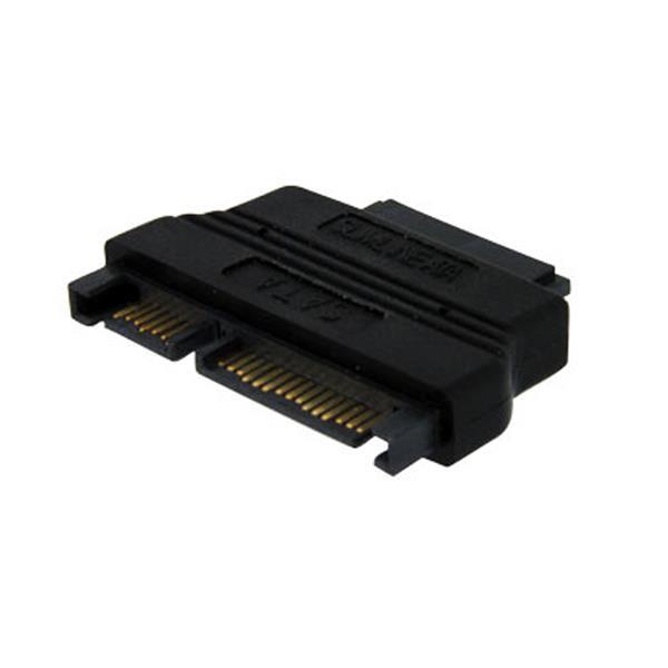 StarTech.com Slimline SATA auf SATA Adapter mit Stromvers. - Buchse/Stecker