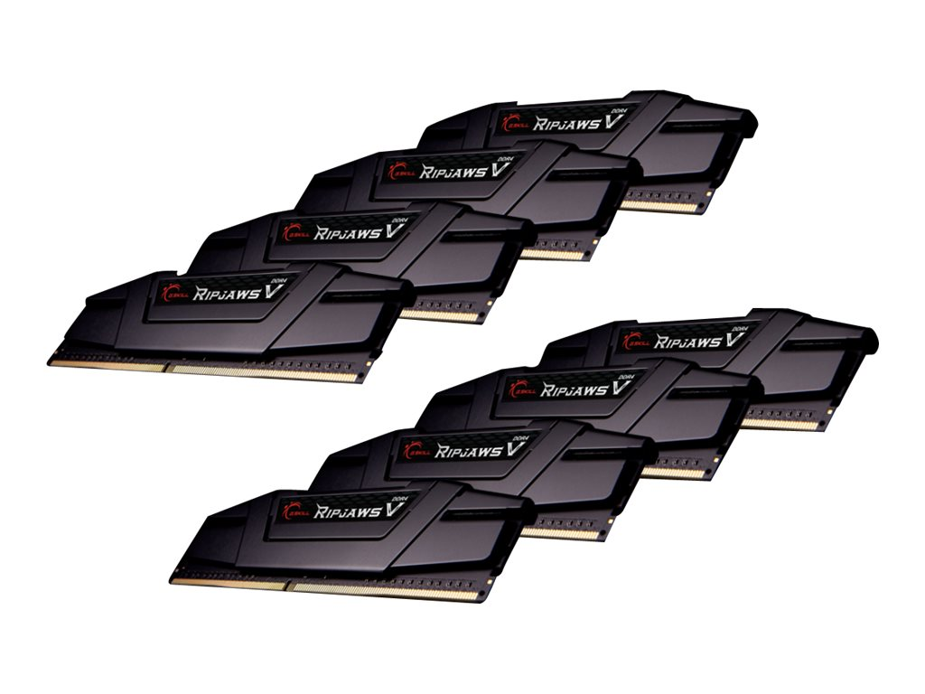 G.Skill Ripjaws V - DDR4 - kit - 256 GB: 8 x 32 GB