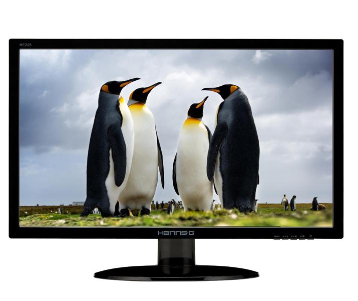 Hanns.G HE225ANB - LED-Monitor - 54.6cm/21.5
