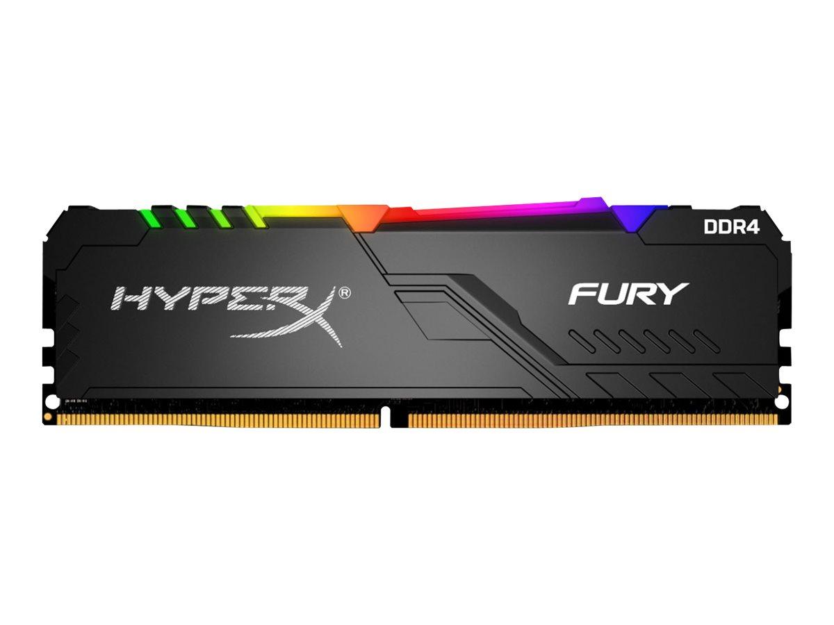 Kingston HyperX FURY RGB - DDR4 - Modul - 32 GB - DIMM 288-PIN