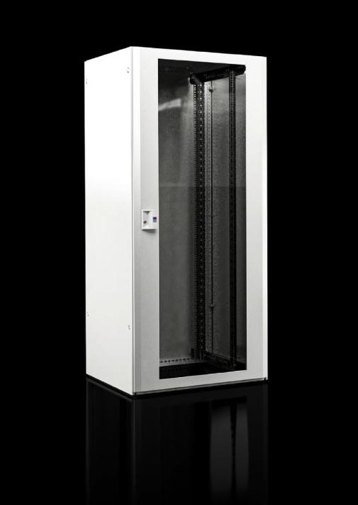 Vorschau: Rittal Tuotenro TX - Freistehendes Gestell - 42U - Sperrschloss - Verbessertes Kabelmanagement - Weiß