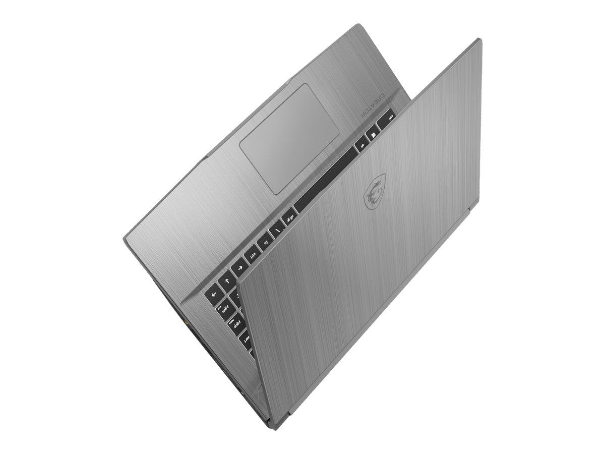 "Vorschau: MSI Creator 15M A10SD-415 - Core i7 10750H / 2.6 GHz - Windows 10 Home - 16 GB RAM - 512 GB SSD NVMe - 39.6 cm (15.6"")"
