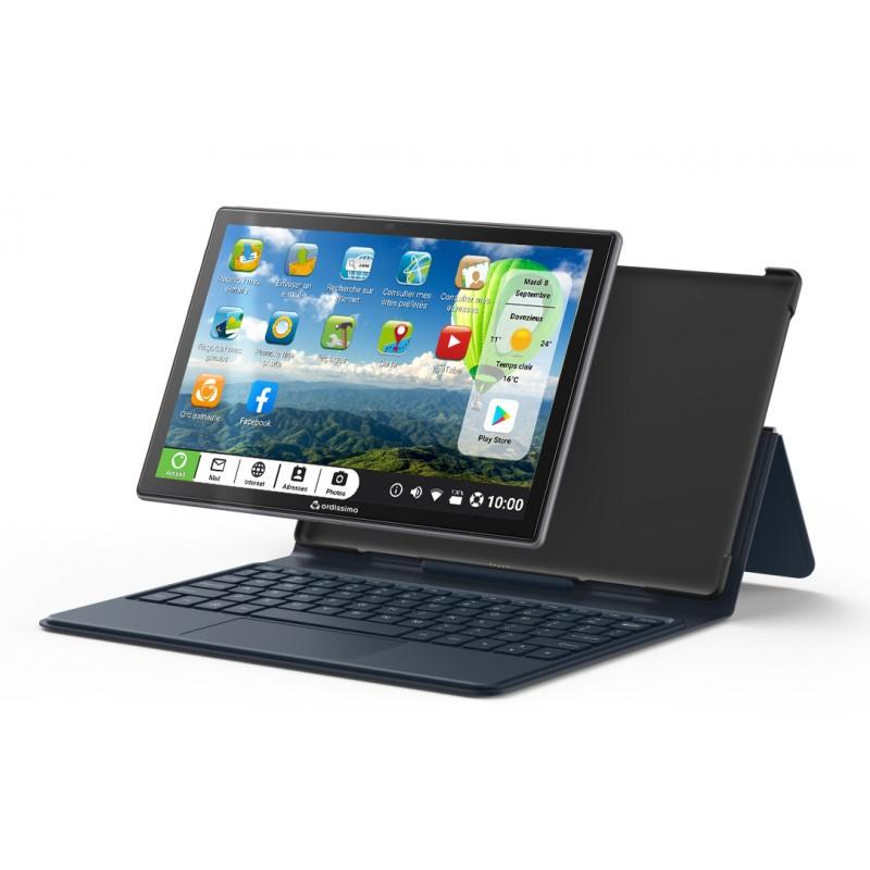 Ordissimo Faltbare Schutzhülle mit Tastatur für Tablet Celia