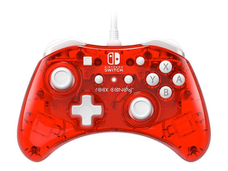 PDP Rock Candy - Game Pad - kabelgebunden - für Nintendo