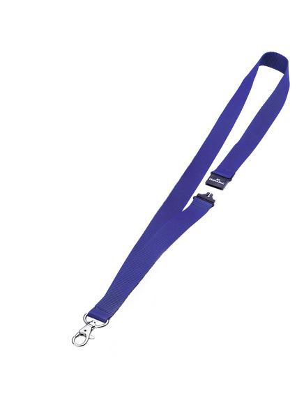 Durable Textilband 20 mit Sicherheitsverschluss - Blau - 20 mm - 44 cm - 10 Stück(e)