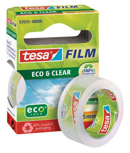 Tesa eco&clear 15mm10m - 10 m - Transparent - 15 mm - 1 Stück(e)