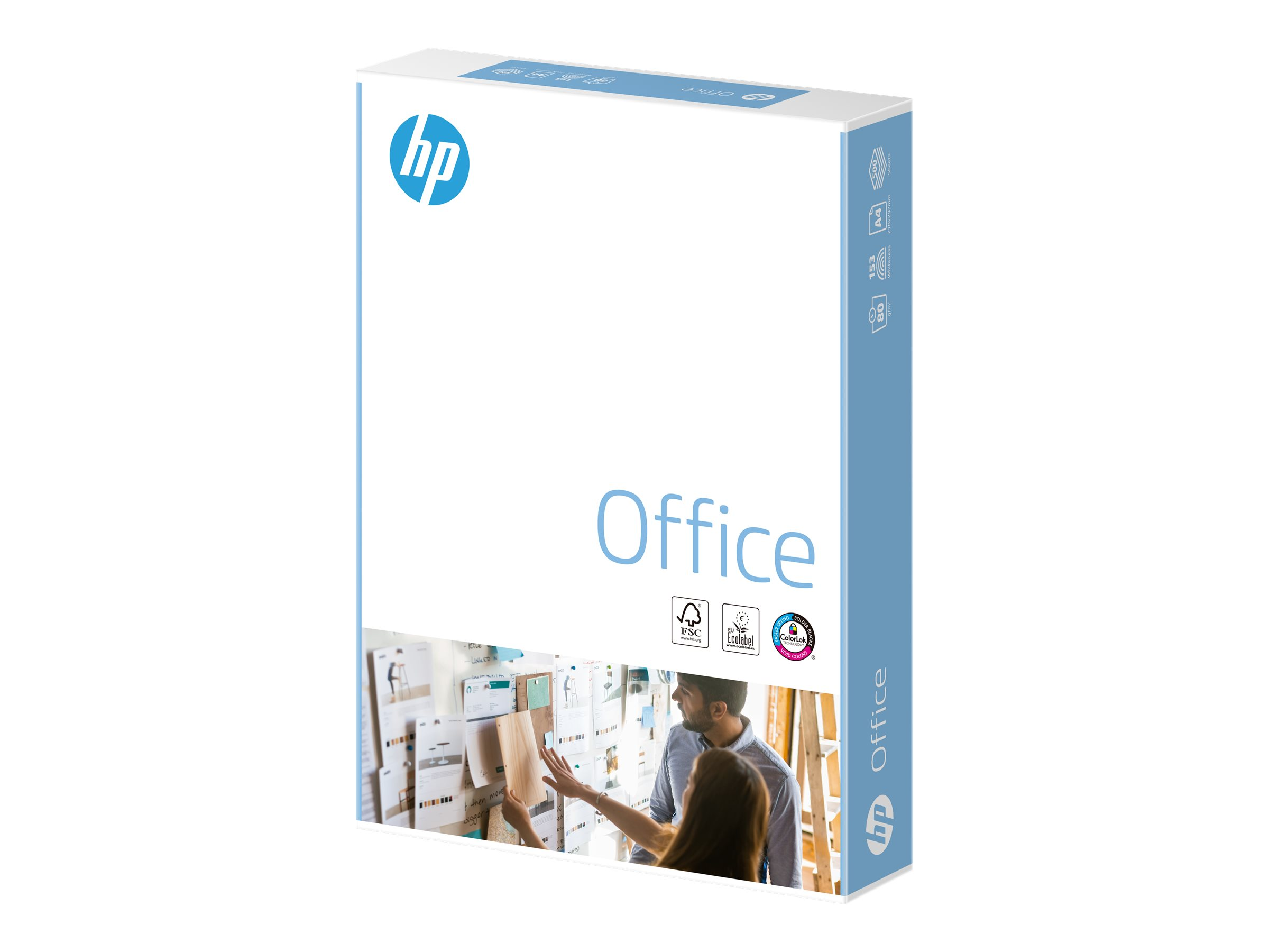 HP Office Paper - A4 (210 x 297 mm) - 80 g/m²