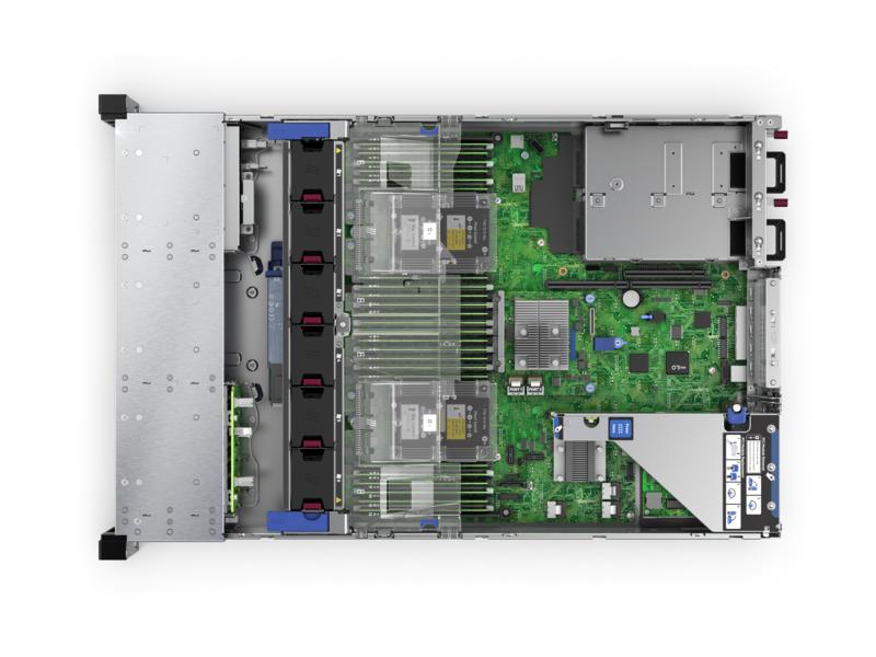 "HPE ProLiant DL380 Gen10 Network Choice - Server - Rack-Montage - 2U - zweiweg - 1 x Xeon Silver 4215R / 3.2 GHz - RAM 32 GB - SATA - Hot-Swap 6.4 cm (2.5"")"