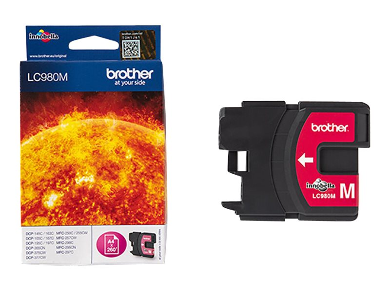 Brother LC980M - Magenta - Original - Tintenpatrone