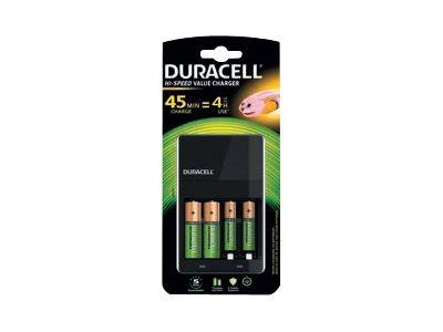 Duracell CEF14 - 4 Std. Batterieladegerät - (für 4xAA/AAA)