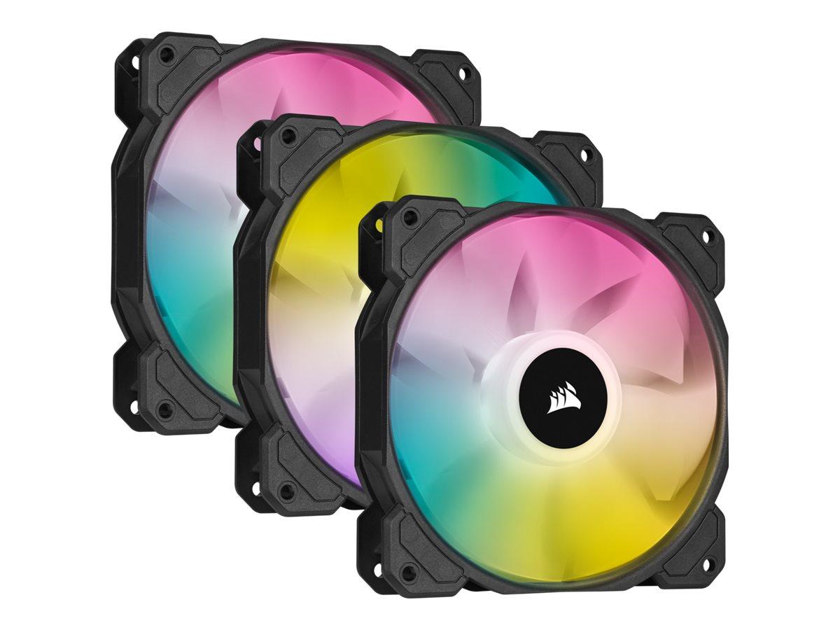 Vorschau: Corsair iCUE SP120 RGB ELITE - System Schrank-Gebläseset - 120 mm (Packung mit 3)