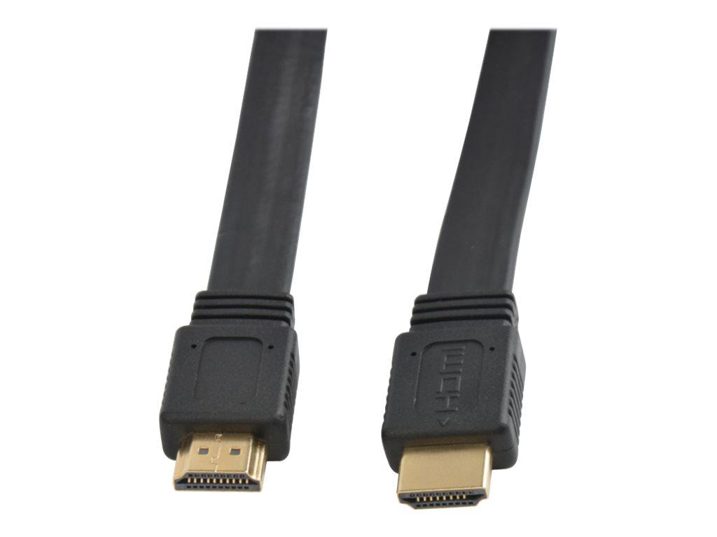 Techly HDMI mit Ethernetkabel - HDMI (M) bis HDMI (M)