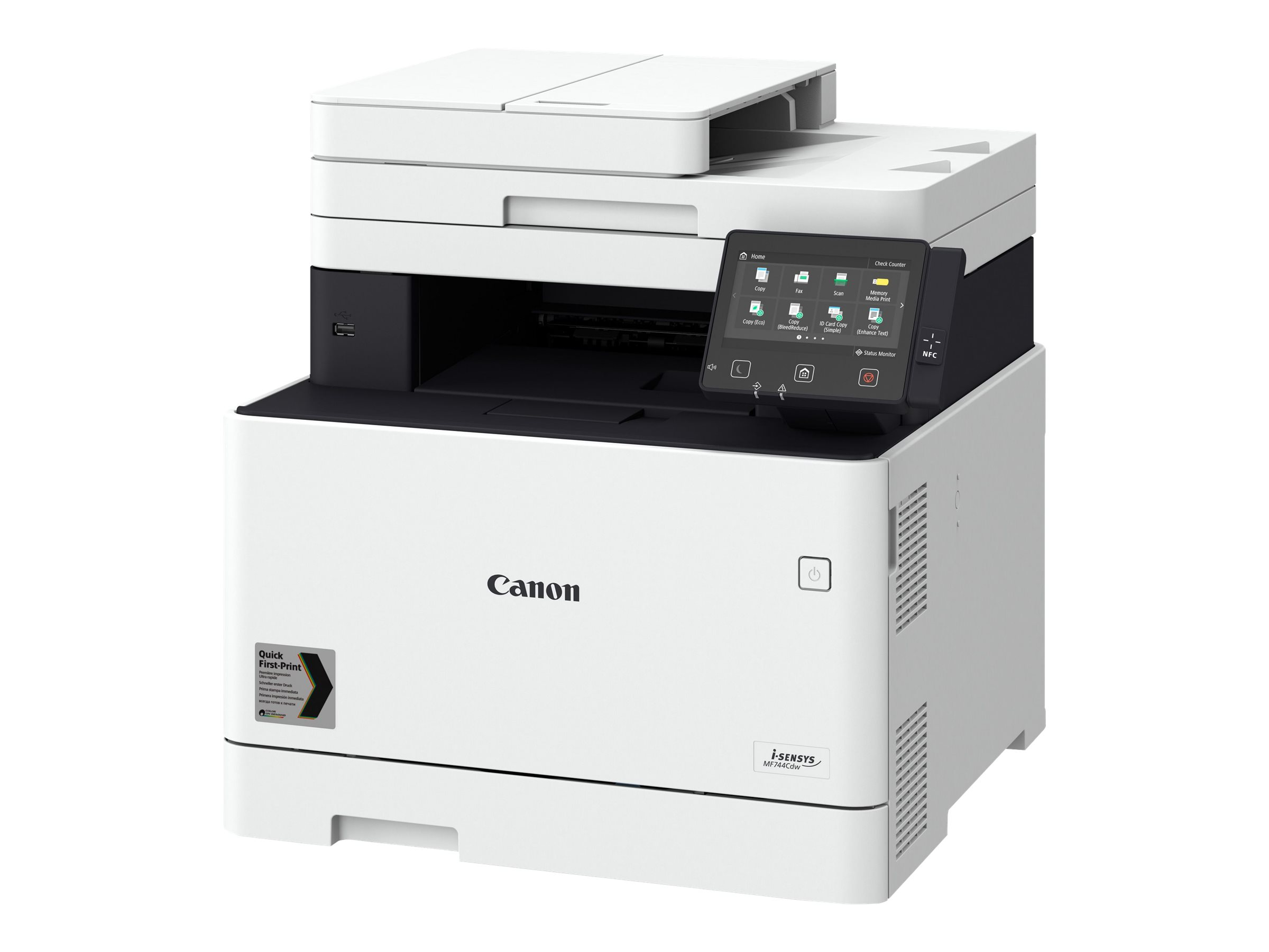 Canon i-SENSYS MF744Cdw - Multifunktionsdrucker - Farbe - Laser - A4 (210 x 297 mm)