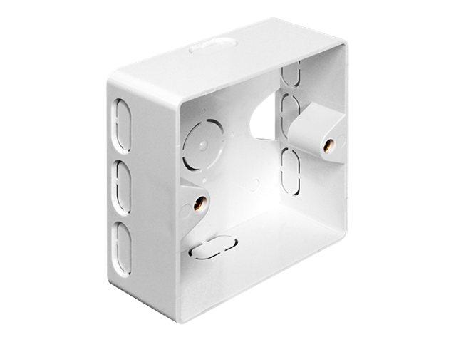 Vorschau: Delock Back Box - Installationskasten Netzwerkoberfläche
