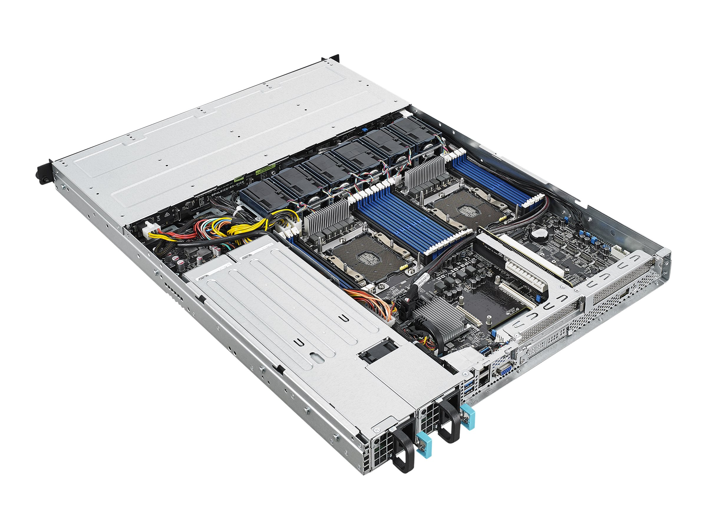 "ASUS RS500-E9-RS4 - Server - Rack-Montage - 1U - zweiweg - keine CPU - RAM 0 GB - SATA - Hot-Swap 8.9 cm (3.5"")"