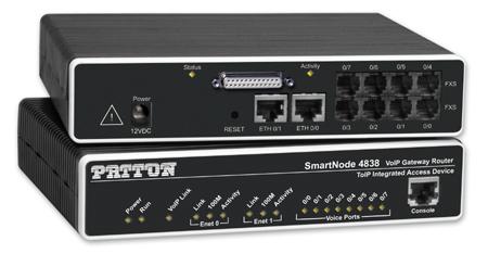 Patton SmartNode 4838 - 10,100 Mbit/s - IEEE 802.1Q,IEEE 802.1p - 12 W - 50 - 60 Hz - 100 - 240 V - 0 - 40 °C