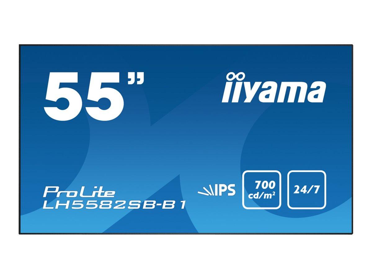 "Iiyama ProLite LH5582SB-B1 - 139.7 cm (55"") Klasse (138.8 cm (54.6"")"