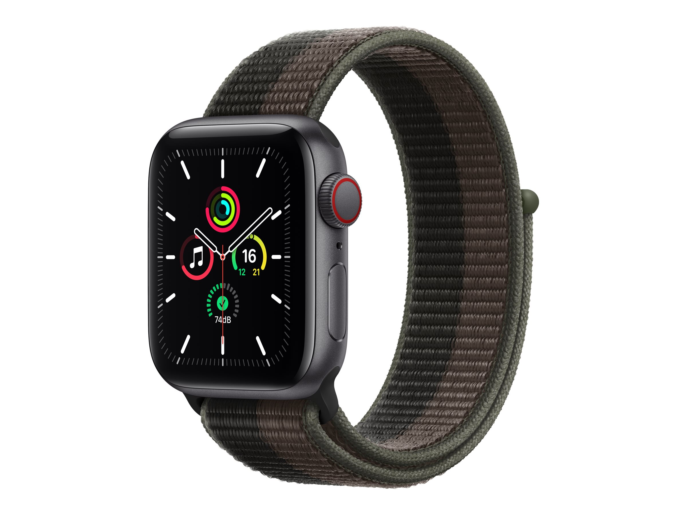 Apple Watch SE (GPS + Cellular) - 40 mm - Space grau Aluminium