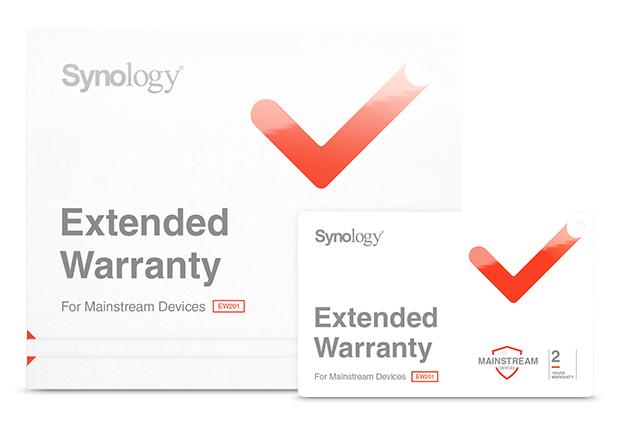 Synology Extended Warranty - Serviceerweiterung - Austausch - 2 Jahre (4./5. Jahr)